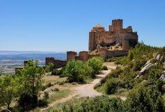 Place: Castillo de Loarre, Loarre / Aragón, Spain. Photo by: Unknown