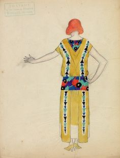 artist Thayaht (born Ernest Michahelles), created for Madeleine Vionnet in the early 1920s