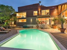 This unique and enticing hill country estate sits on over 2 acres in one of Austin's most prized neighborhoods and has some of the most unique and special features one can find.  Bed | 4 Bath | 6Full | 1 Parital Est. Sq .Ft. | 5,846  Details here: http://ow.ly/10hUDV