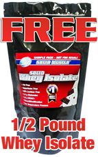 FREE Sample of Solid Muscle's Whey Isolate on http://hunt4freebies.com