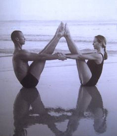 Partner yoga...need to get a partner. Lol
