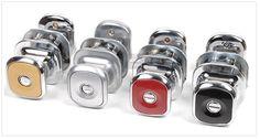 EL Push Door Lock (coin type) 4 colors Change Your Life Easy No Need Handle Turn #ELtech