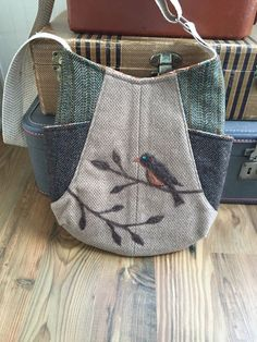 A personal favorite from my Etsy shop https://www.etsy.com/listing/260148328/241-tote-bag-upcycled-wool-bag