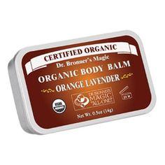 Bálsamo Orgánico Corporal de Naranja y Lavanda - Orange Lavender Organic Body Balm - Oianora