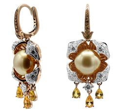 Alessio Boschi Mughal Perfumes collection earrings