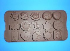 Cute fashion 1 Silicone Chocolate Mold Cake Craft Candy Baking molds ** You can find out more details at the link of the image.(This is an Amazon affiliate link and I receive a commission for the sales)