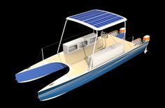 Electric Catamaran