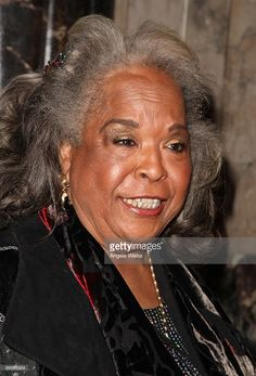 Actress Della Reese attends the opening night of 'The Color Purple' at the…