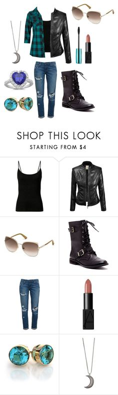 """Chapter 32"" by secretly-a-fangirl ❤ liked on Polyvore featuring Swarovski, Sole Society, Paige Denim, NARS Cosmetics, Gypsy Warrior and Sterling Essentials"