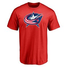 Men's Columbus Blue Jackets Design Your Own Short Sleeve T-Shirt- - $28.99
