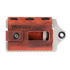 Trayvax Element Wallet (Canyon Red)