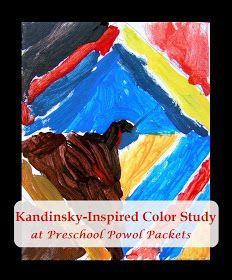 Kandinsky-Inspired Diamond Painting Color Studies with Kids! | Preschool Powol Packets