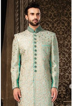 Light Green Sherwani