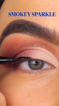 Eye Makeup Steps, Eye Makeup Art, Beauty Makeup Tips, Cute Makeup, Eyebrow Makeup, Gorgeous Makeup, Skin Makeup, Eyeshadow Makeup, Natural Eyebrow Tutorial