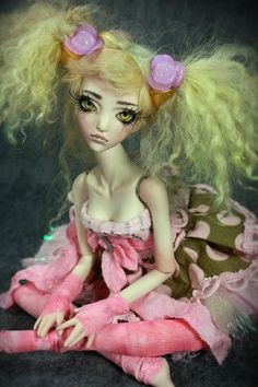 OOAK Macadamia Rose Porcelain BJD Ball Jointed Doll Forgotten Hearts | eBay