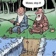 Moses you cheater!!