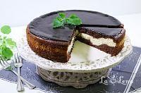 Placinta cu iaurt - LaLena.ro No Cook Desserts, Dessert Recipes, Sweets Cake, Tiramisu, Biscuits, Cheesecake, Goodies, Pudding, Make It Yourself