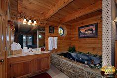 smokies cabin bedroom - Google Search