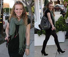 Hilary Duff Celebrity Style fashion