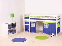 Thuka Hit 6 - Cabin Bed with Tent (boy)