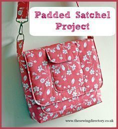 Sew this super padded satchel project with Susan Dunlop's tutorial