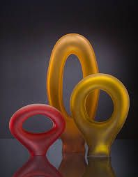 Image result for colorful glass sculpture