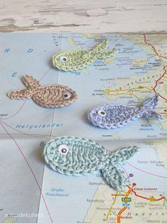 NaturDekoHerz: Urlaubsgrüße - DIY Upcycling Kalender und Landkarte