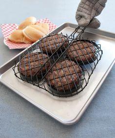 Nonstick Hamburger Grilling Basket #zulily #zulilyfinds