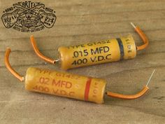 Vintage Replica GREY TIGER MFD Capacitor for Gibson Les Paul SG ES 335 and other electric Guitar, simply the best Capacitors for restauration and upgrade your Guitar Sound Fender Telecaster, Guitar Fender, Gibson Les Paul, Fendi, Custom Guitars, Vintage Guitars, Wax Paper, Grey, Word Reading