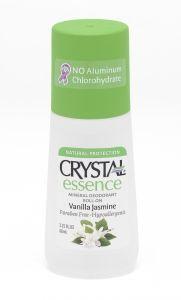 Натуральный роликовый дезодорант Сrystal с экстрактами ванили и жасмина, 66 мл