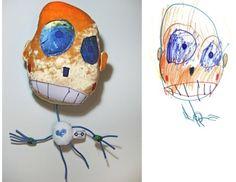 Wat een cool idee! Laat je kind zijn/haar fantasie figuur tekenen en laat er vervolgens een echte knuffel van maken. http://www.childsown.com/