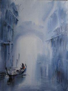 Aquarelles Paysages de Cao Bei An