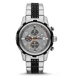 #Fossil - Stripe it Up with our Dean Chronograph Watch