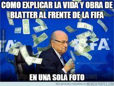 628016 - Cómo explicar la vida y obra de Blatter al frente de la FIFA