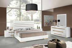 Contemporary Italian Bedroom Furniture With Contemporary Italian Bedroom Set With White Bed The Headboard Is Upholstered In Leather And 107 Best Master Bedroom Sets Collection Images On Pinterest 2018