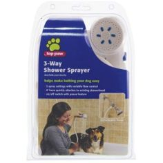 Top Paw 3-Way Shower Sprayer -- You can get more details by clicking on the image. (This is an affiliate link)