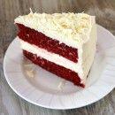 Red Velvet Cheesecake Cake | Recipe Girl --  for Troy's birthday, maybe? :)