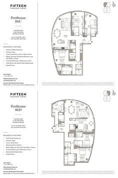 2447 Best Apartment /Penthouse floor plans images in 2019