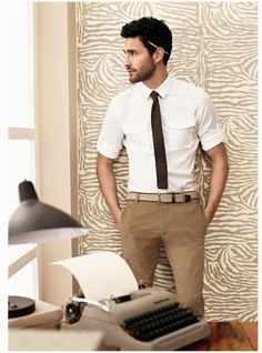 Lovely browns. My son all the way, a more youthful business casual