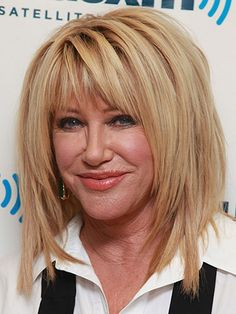 Get Suzanne Somers' textured tresses at home!