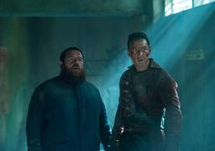 Into the Badlands - Into the Badlands Season 2 Episode Photos - AMC Amc Networks, Into The Badlands, Sci Fi Tv Shows, Season Premiere, Jackie Chan, How To Get Away, Classic Tv, Music Tv, Season 2