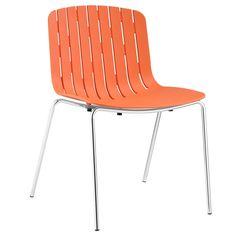 Roxy Dining Side Chair in Orange
