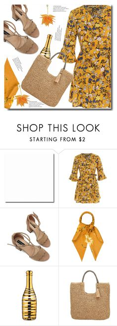 """Dinner"" by soks ❤ liked on Polyvore featuring Salvatore Ferragamo, Kosta Boda, John Lewis and polyvoreeditorial"