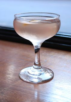 the gin martini: recipe