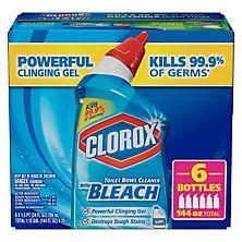 Clorox Toilet Bowl Cleaner Value Pack, Rain Clean (24 oz., 6 pk.)