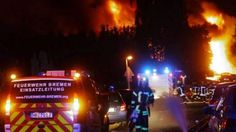 A powerful explosion has rocked a chemical plant near Bremen, in northern Germany. At least one person has reportedly been injured while the plant buildings sustained 'serious damage.' More than 300 firefighters have been called in to battle the explosion and massive fire at the Bergolin company plant in Ritterhude, a city north of Bremen with a population of 15,000