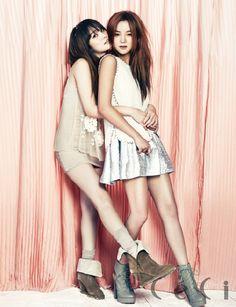 Lee Hyori and Spica - Ceci Magazine September Issue 13