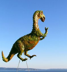 Forget Pink Plastic Flamingos, These Lawn Ornaments Are Where It's At