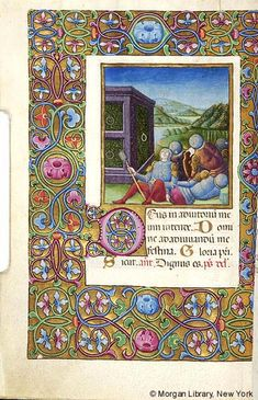 Book of Hours, MS M.454 fol. 79v - Images from Medieval and Renaissance Manuscripts - The Morgan Library & Museum