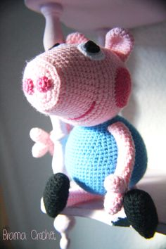 George Pig by Brama Crochet (amigurumi doll)
